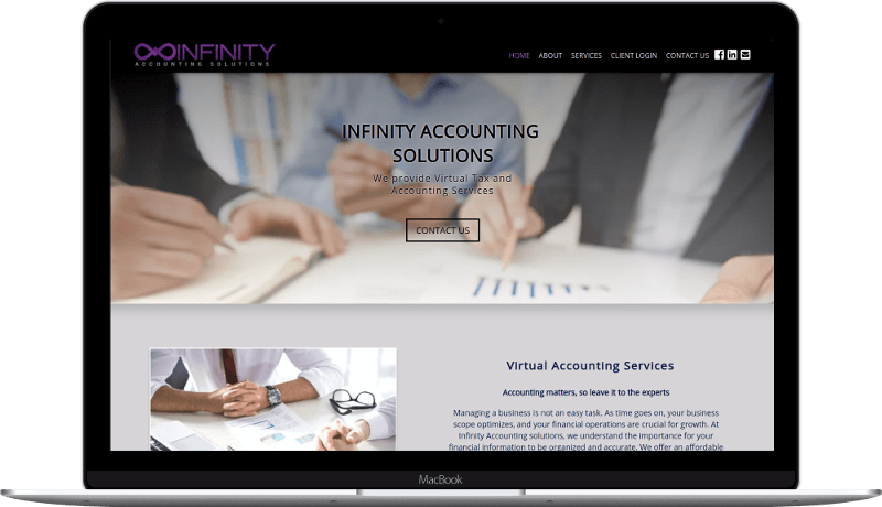 INFINITY ACCOUNTING SOLUTIONS